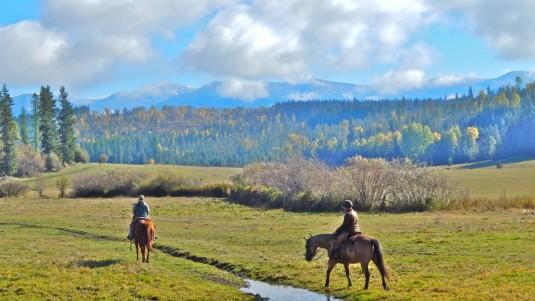Fall Horseback Ride