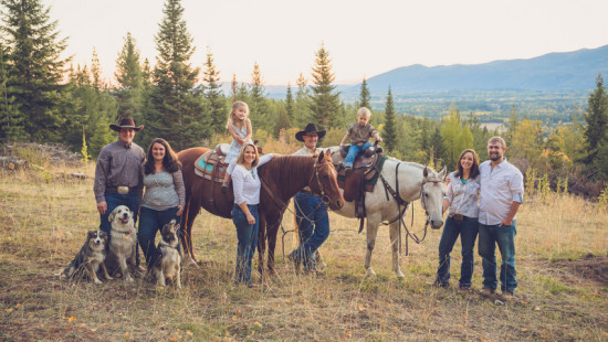 Western Pleasure Guest Ranch Family