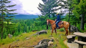 Horseback Ride With a View