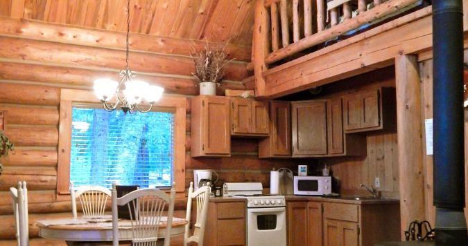 Settler cabin kitchenette