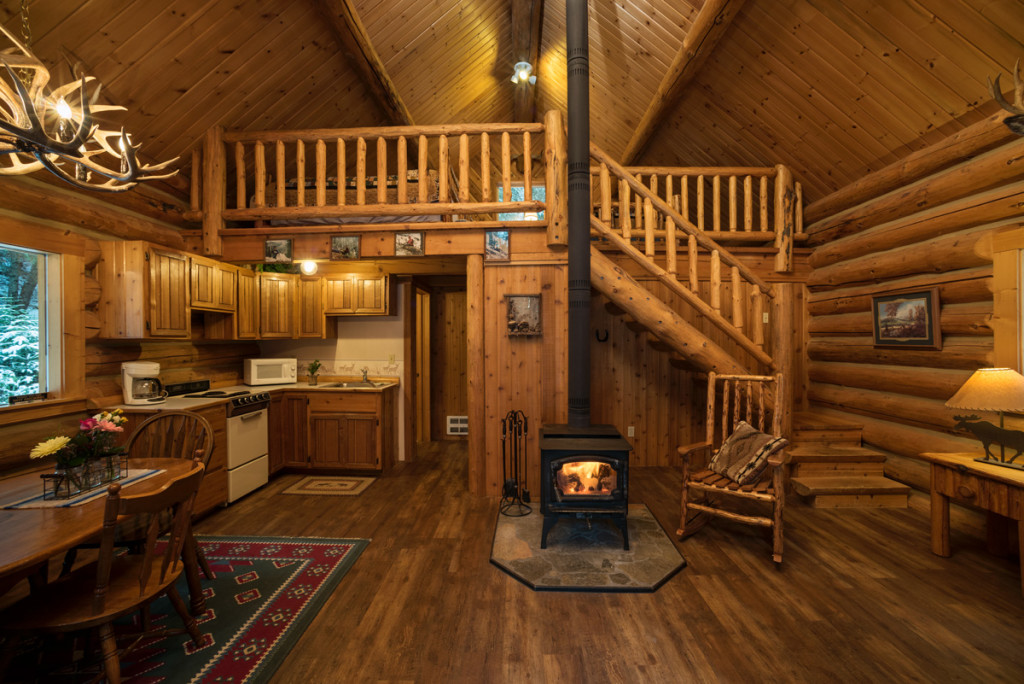 Hunter Log Cabin ⋆ Western Pleasure Guest Ranch