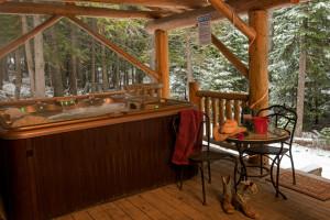 Western Pleasure Guest Ranch Hot Tub