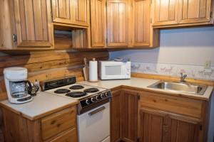 Western Pleasure Guest Ranch Hunter Cabin Kitchen