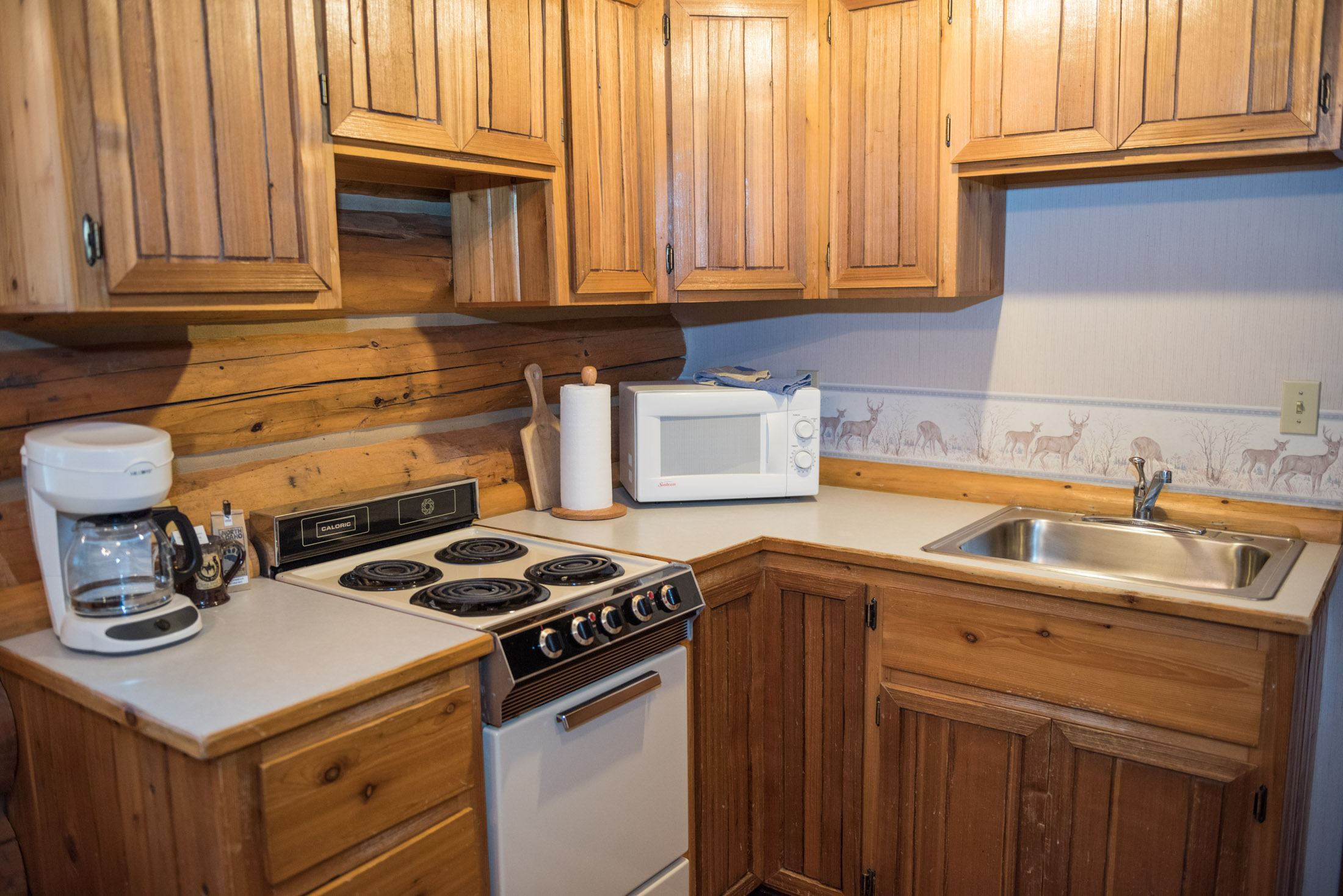 Western Pleasure Guest Ranch Hunter Cabin Kitchen