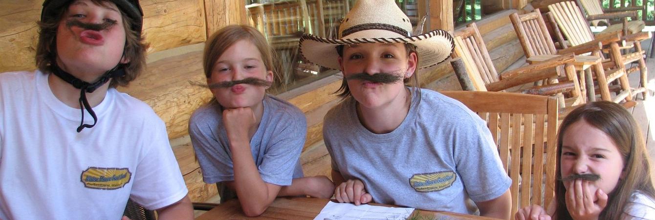 dude ranch childrens program