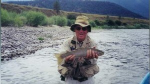Fishing trip trophy