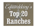 Top 20 Ranches