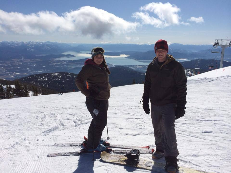 Skiing and snowboarding at Schweitzer