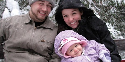 Otis Family in the Winter