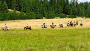 Horseback Riding at Western Pleasure Guest Ranch