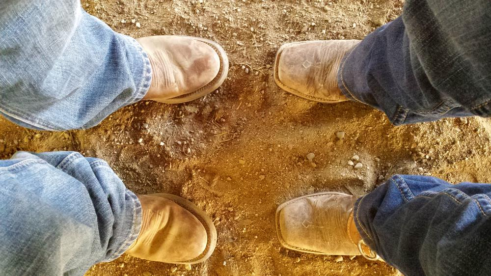 His and Hers Boots