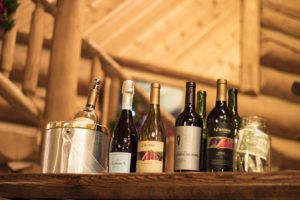 ranch dining beer and wine