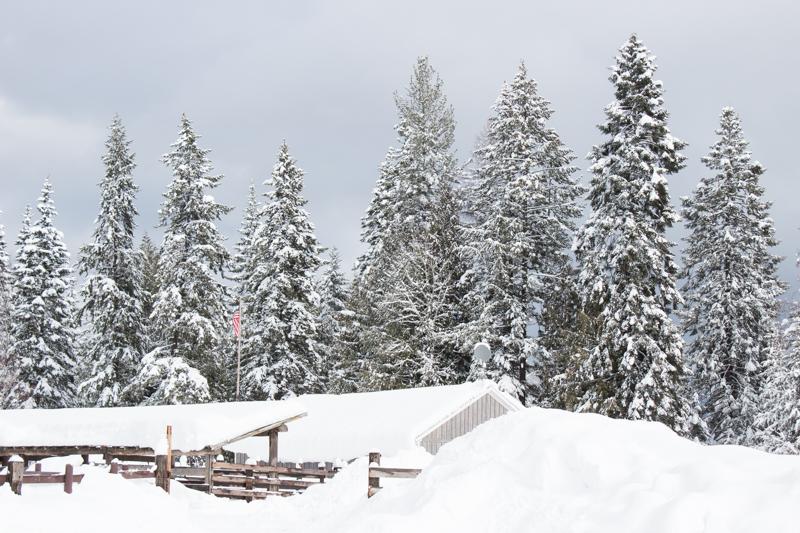 Western Pleasure Guest Ranch Idaho Winter