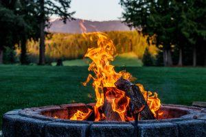 Campfire at Western Pleasure Guest Ranch