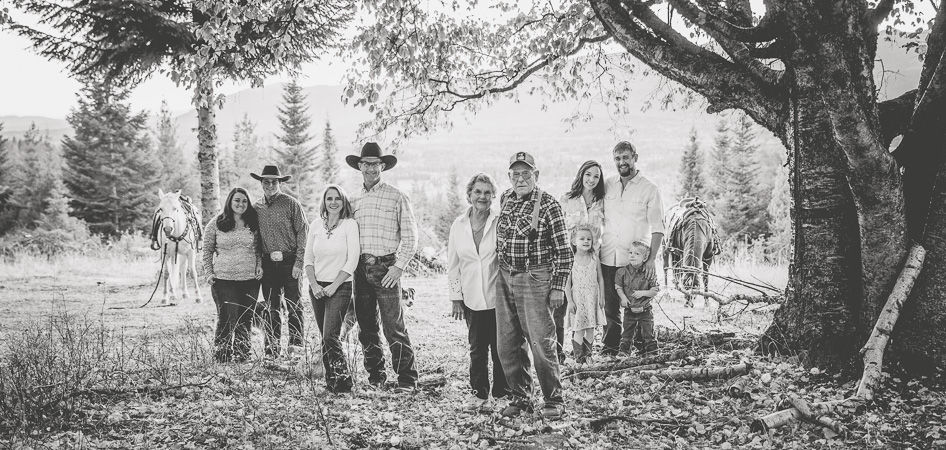 Western Pleasure Guest Ranch Family Photo